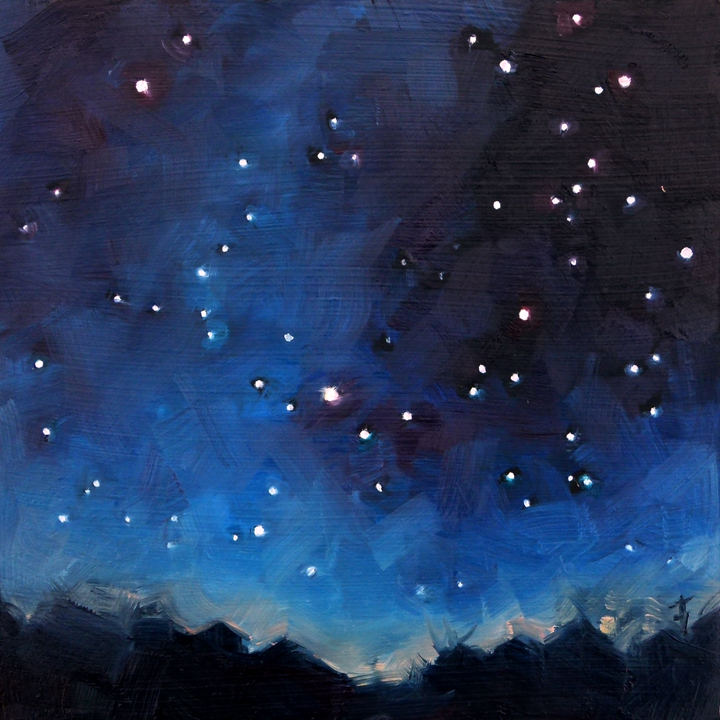 Stars 171 Deb Anderson Painting